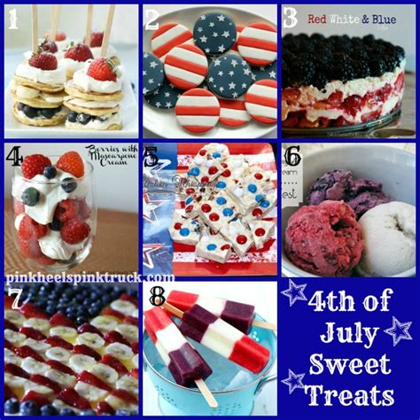 4 of july treats 17 sweet treats for the 4th of july pink heels pink truck