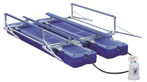 Best Pontoon Boat For Shallow Water by Ultralift2 Shallow Water Boat Lift