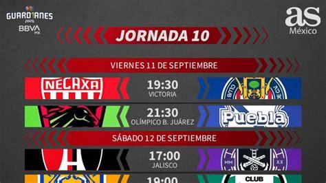 Liga MX: Fechas y horarios del Guardianes 2020, Jornada 10 ...