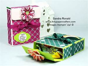 pretty gift box for treats arty paper crafters