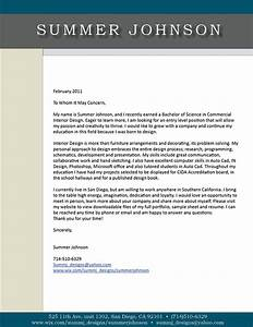 academic profile resume cover letter sample sheet on With interior design cover letter examples