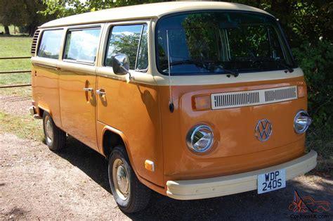 Vw Camper Van Micro Bus Type 2 7 Seater Restored