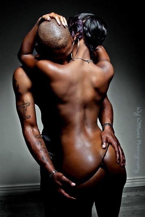 Black Couple Art Sex Hot Nude