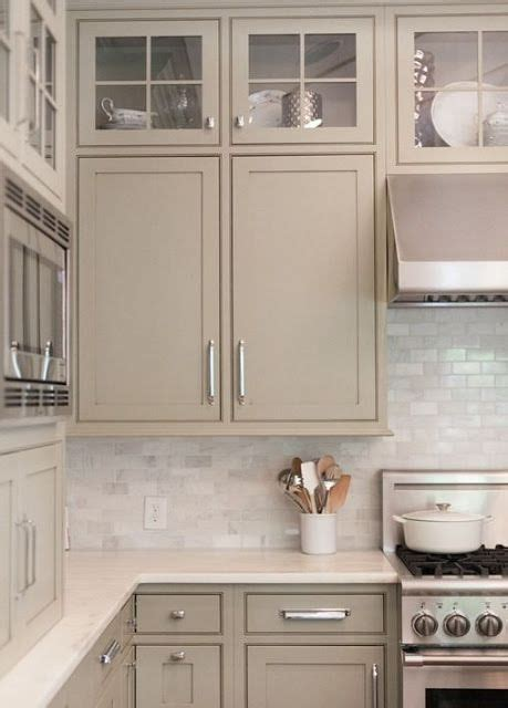 25 best ideas about taupe kitchen cabinets on