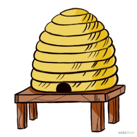 beehive clipart  image