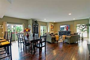 best kitchen and dining room open floor plan design ideas With kitchen dining and living room design