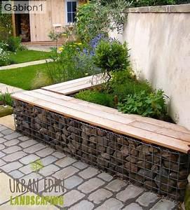Seat Muret : gabion seating in durham gabion pinterest jardins terrasses et ~ Gottalentnigeria.com Avis de Voitures