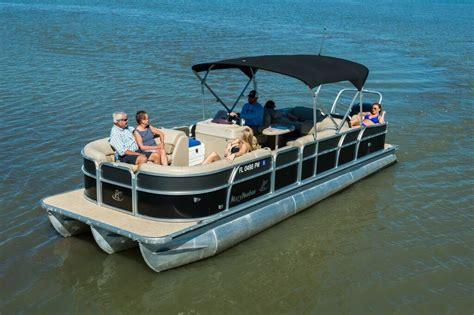 Baywater Boat Club by C27 25 Harbor Tritoon Baywater Boat Club