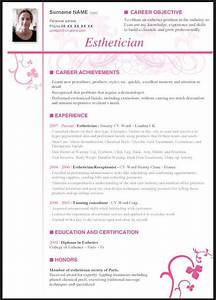 esthetician resume with no experience resume template With sample resume for esthetician student
