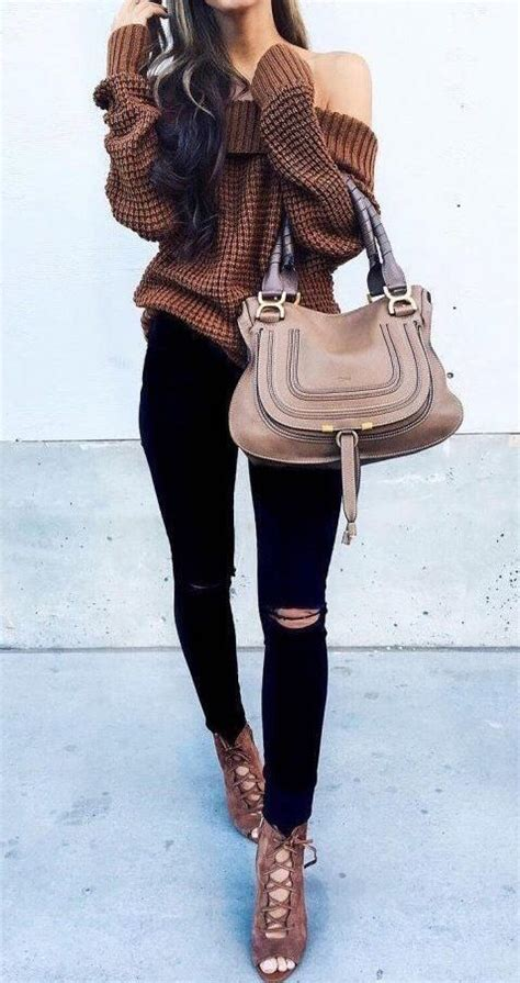 25 Winter Date Night Outfits To Copy Right Now | Pinterest | Shoulder Winter and Clothes