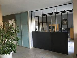 Porte Coulissante Verrière : verriere avec porte coulissante elegant verriere avec ~ Melissatoandfro.com Idées de Décoration