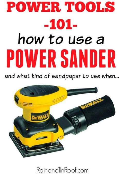 power tools      sander blogger home
