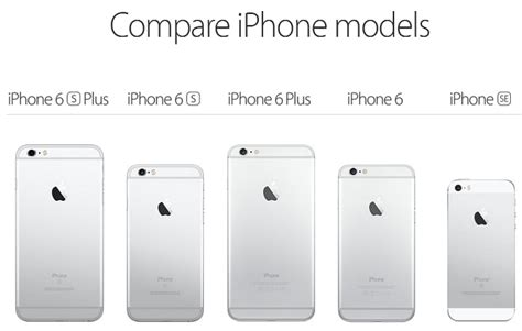 compare iphone models apple s 4 inch iphone se arrives march 31st