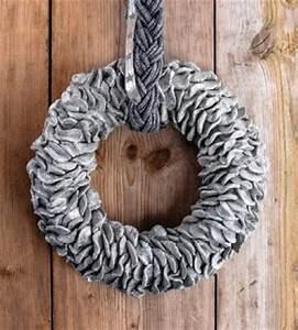 Weihnachtskranz Selber Machen : kranz weihnachtskranz aus knetbeton diy einfach selber machen ~ Markanthonyermac.com Haus und Dekorationen