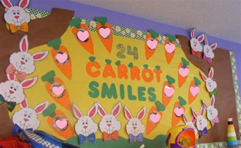 24 carrot smiles easter bulletin board idea supplyme 392 | Easter Bulletin Board Idea1