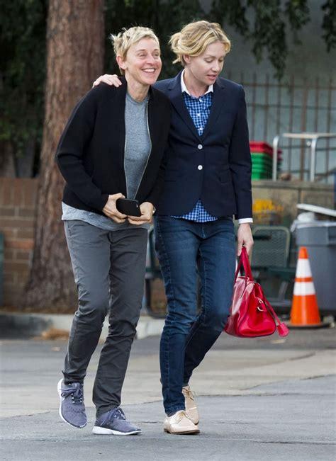 Ellen DeGeneres and Portia de Rossi Out in LA December ...