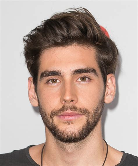Alvaro Soler Short Straight Casual Hairstyle   Medium