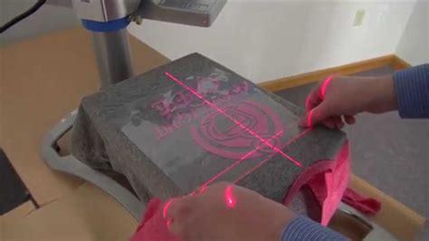 hotronix portable heat press laser alignment system youtube