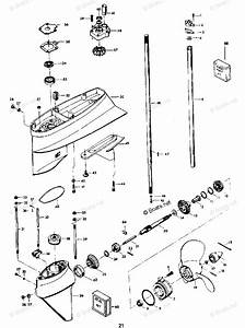 Ym 2171  55 Hp Chrysler Outboard Diagram Schematic Wiring