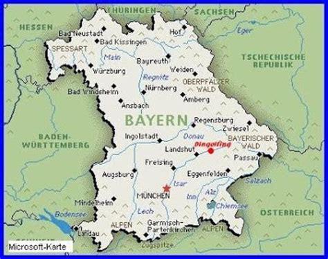 Bayern Karte Region Bild | Deutschlandkarte