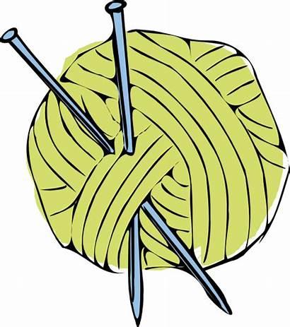 Yarn Knitting Needles Ball Wool Needle Clipart