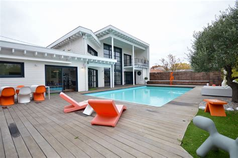 bordeaux metropole maison darchitecte avec piscine