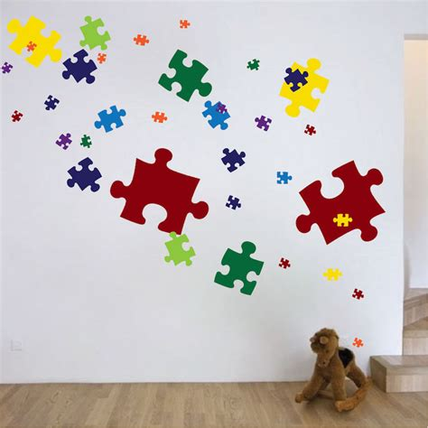 Enter the answer length or the answer pattern to get better results. Puzzle Pieces Decal - Game Wall Decal Murals - Primedecals