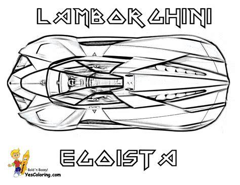 exclusive lamborghini coloring pages cars