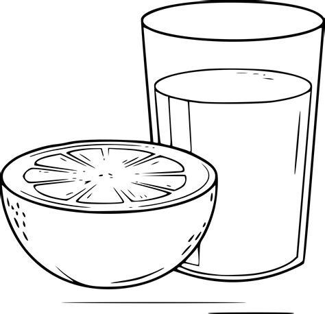 Coloring Juice by Drink Orange Juice Coloring Pages Coloring Pages
