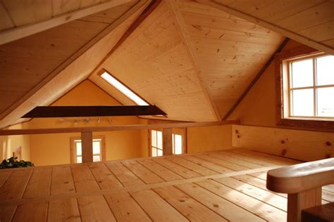 house with loft tiny smart house
