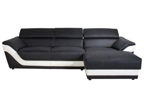 conforama canape photos canapé noir et blanc conforama