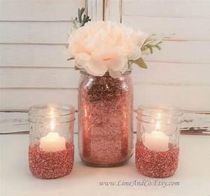 Rose Gold Decor : ideas rose gold wedding decor ~ Teatrodelosmanantiales.com Idées de Décoration