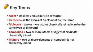 Classification Of Matter Worksheet Atoms Particles And