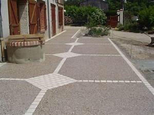 charmant faire une terrasse en composite 12 terrasse With terrasse beton avec motif