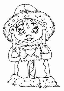eskimo coloring pages #1