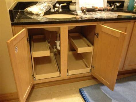 under sink drawers bathroom 26 best images about kitchen cabinet ideas on pinterest