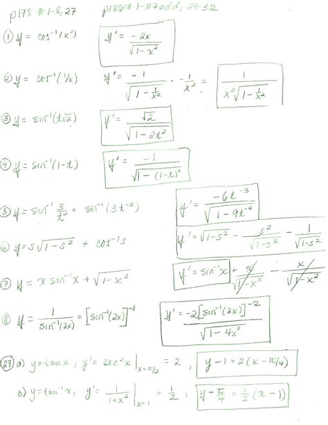 derivatives of logarithmic functions worksheet worksheets