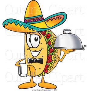 Taco Cartoon Character