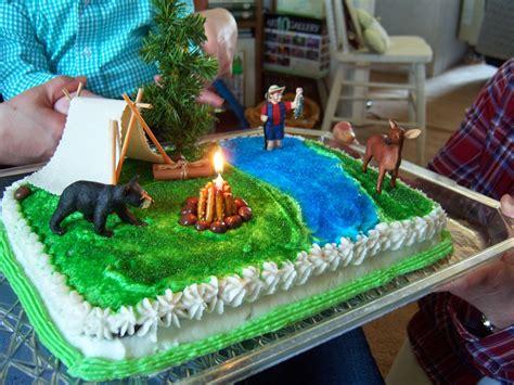 shoregirls creations camping woodland birthday party
