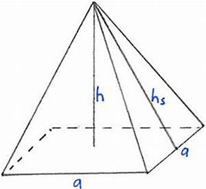 Quadratische Pyramide A Berechnen : pyramide oberfl che ~ Themetempest.com Abrechnung