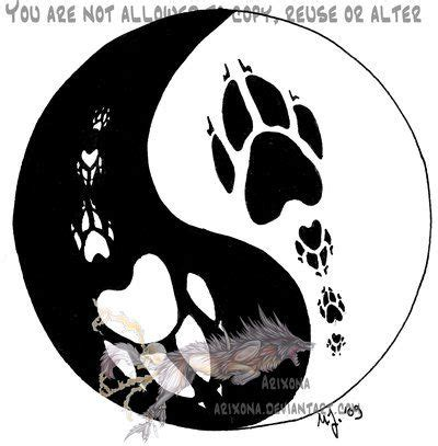 wolf yin   tattoos google search
