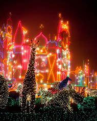 Small World Disneyland at Christmas