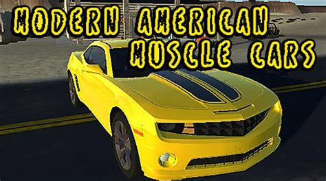 modern american muscle cars for android download apk free