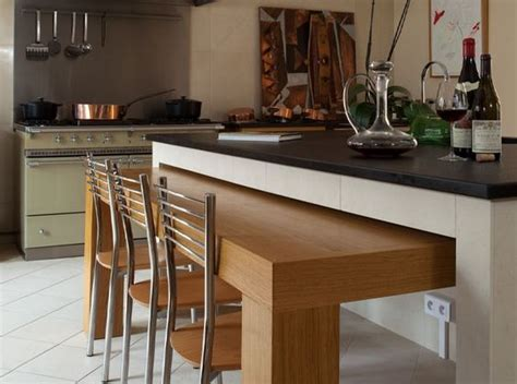 table de cuisine retractable 10 cozinhas pequenas com mesa retrátil