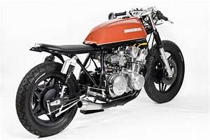 Racing Caf U00e8  Honda Cb 750  U0026quot The Brushed U0026quot  By Steel Bent Custom