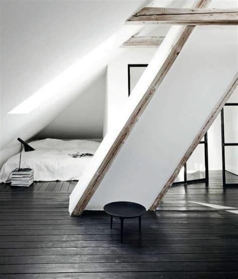 chambre a coucher en noir et blanc le parquet noir en 45 photos