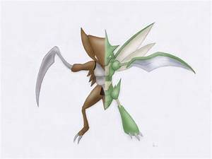 Scyther and Kabutops? (x-post from r/pokemon ...
