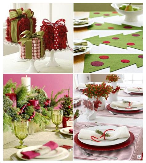 decoration table de noel photograph decoration table noel