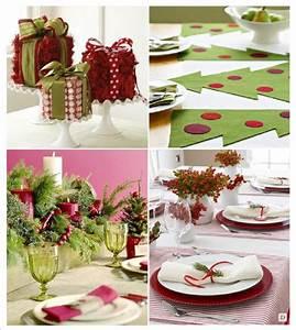 Idee Deco De Table Noel : deco de table noel ~ Zukunftsfamilie.com Idées de Décoration