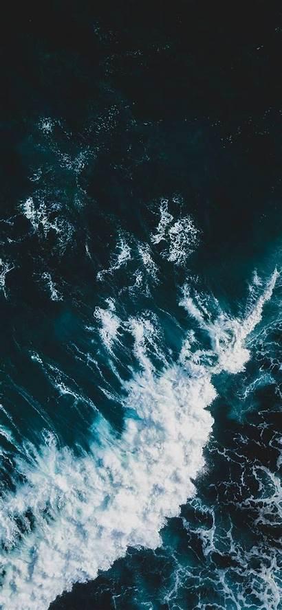 Wave Wallpapers Vsco Ocean Iphone Waves Sea